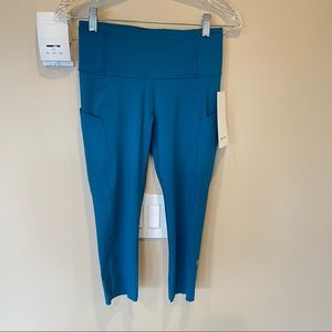 "lululemon Fast and Free High-Rise Crop 19"" *Nulux"